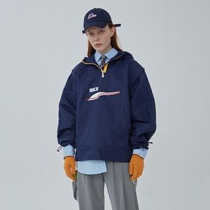 NEW PUMA x ADER windbreaker peacoat